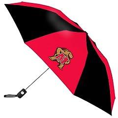 Buy NCAA Maryland Terrapins Automatic Folding Umbrella by WinCraft