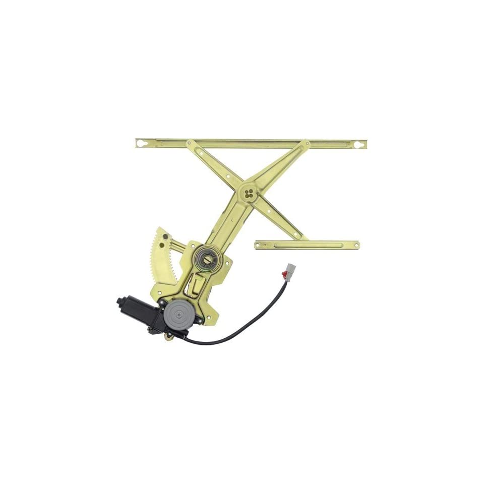 Dorman 741 850 Front Driver Side Replacement Power Window Regulator with Motor for Honda Accord