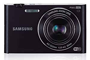 Samsung Multiview MV900F Appareil photo numérique 16 Mpix Ecran pivotant 3,3'' Zoom optique-5x Optique Wifi Noir