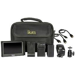 Ikan VL5-DK-N VL5 Deluxe Kit for Nikon EN-EL15 Series Battery (Black)