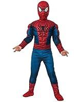 Amazing Spiderman 2 Boy's Movie Muscle Costume