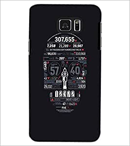 SAMSUNG GALAXY NOTE 5 NUMBERS Designer Back Cover Case By PRINTSWAG