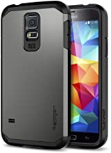 Galaxy S5 Case, Spigen Tough Armor Case for Galaxy S5 - Gunmetal (SGP10762)