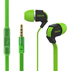 Yison Ex830G Green Earphone with Mic