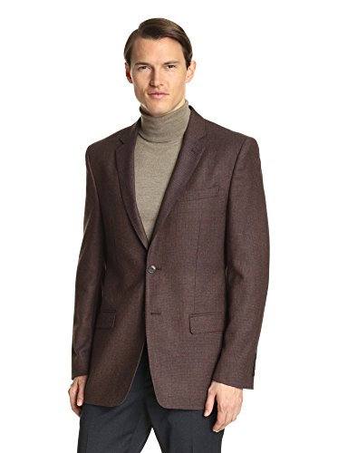 Versace Collection Men's Check Notch Lapel Sport Coat