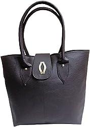 H&H Women's Handbag Dark Brown (AHHBDDB)