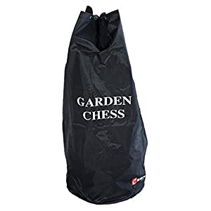 UBER Games Outdoor Garden Size Chess Carrying Bag, fits 12 Inch King Garden Size Chess Set