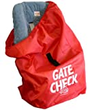 J. L. Childress Gate Check Air Travel Bag for Car Seats, Red