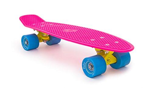 miller-division-baby-original-skateboard-unisex-color-rosa-fluor-talla-22