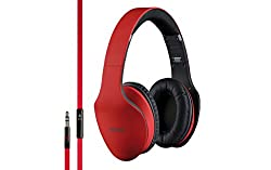 Interstep Swipe Wired Headset (Red, IS-MU-HDP200RED)