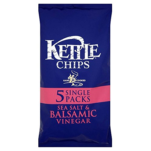 Kettle Chips - Sea Salt & Balsamic Vinegar (5X30G)
