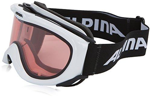 Alpina E-ROTIC Skibrille (Weiß)