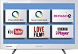 Sony KDL24EX320WU 24-inch Widescreen Full HD 1080p Edge LED Internet TV with Freeview - White