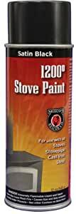 Meeco 39 S Red Devil 405 Spray Paint Satin Black Wood Stove Paint