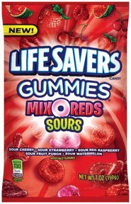 LifeSavers Gummies, Mix-O-Reds, 7 Ounce (Pack of 12)