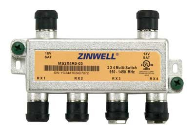 Best Deals! Zinwell MS2X4RO-03 2x4 Multi-Switch