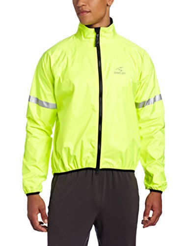 Showers Pass Waterproof Storm Jacket,  Neon Yellow,  Large (Bicycle Rain Jacket compare prices)