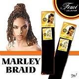 Femi Collection Marley Braid 100% Kanekalon Flame Retardant
