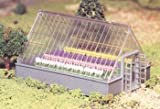 Bachmann Industries GreenHouse with Flowers Set, O Scale