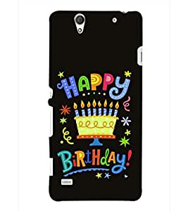 PRINTSHOPPII BIRTHDAY Back Case Cover for Sony Xperia C4 Dual E5333 E5343 E5363::Sony Xperia C4 E5303 E5306 E5353