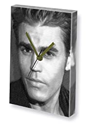 PAUL WESLEY - Canvas Clock (A4 - Signed by the Artist) #js005