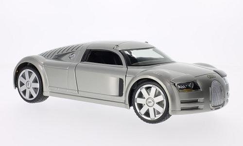 Audi Rosemeyer, Supersportwagen Concept Car, 2001, Modellauto, Fertigmodell, Maisto 1:18