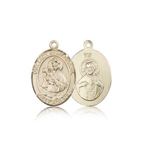 14kt Gold St Columbanus Medal