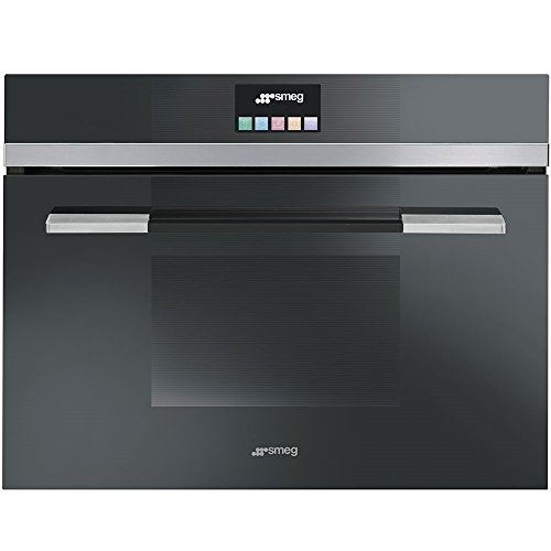 Smeg SF4140MCN Microwave Linea Built-in Combination Compact