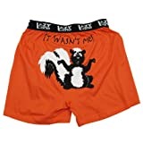 Lazy One Men's It Wasn't Me! Comical Boxer Shorts
