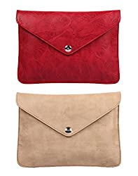 Oleva Ladies Clutch Bags combo set of 2 Sling Bags OVD-862