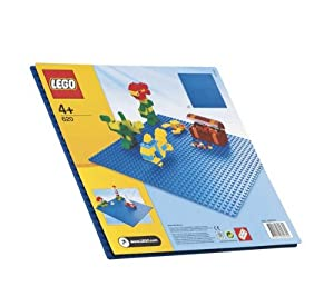 LEGO Blue Baseplate 620 (Whether you're constructing an ocean scene or just like the color blue, this 32x32-stud baseplate is the perfect starting point for building, displaying, transporting and playing with your LEGO® creations.... )