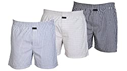 Careus Men's Cotton Boxers (Pack of 3)(13_14_18_Multi-coloured_Medium)