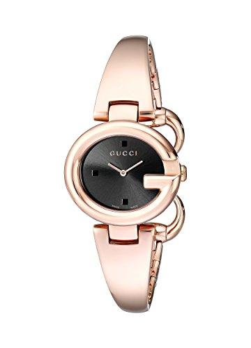 Gucci  YA134509 - Reloj de cuarzo para mujer, con correa de acero inoxidable, color 0