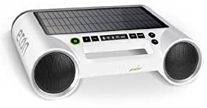 Eton NRKS100SW Rukus Solar Bluetooth Sound System with Solar Panel  (White) (Discontinued by Manufacturer)
