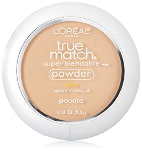 L'Oreal Paris True Match Super-Blendable Powder, Natural Beige, 0.33 Ounce