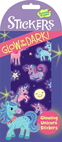 Peaceable Kingdom Glow in the Dark Unicorn Sticker Pack