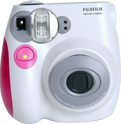 Fujifilm INSTAX MINI Film Camera (Pink Trim)