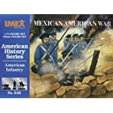 Mexican American War American Infantry Figure Set 1/72 Imex