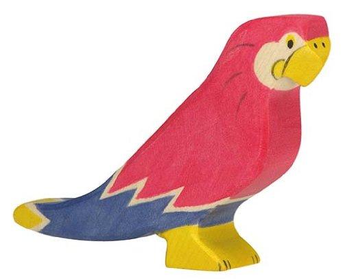 Holztiger Parrot Wooden Figure - 1