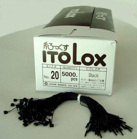Fils de sécurité iTO lOX coton noir 120 mm (5.000...