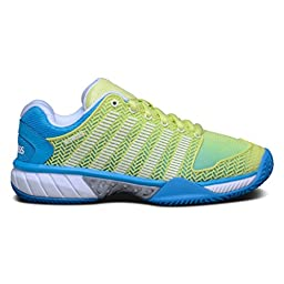 K-SWISS Hypercourt Express HB Ladies Tennis Shoe, Lime, US6
