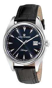 Revue Thommen Men's 21010.253700000001 Heritage Analog Display Swiss Automatic Black Watch