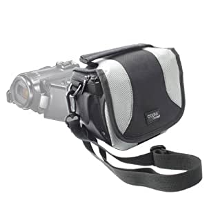 Etui de rangement + lanière réglable pour caméscope / appareil photo numérique Samsung HMX-QF30, HMX-F80, HMX-F90 & Sony Alpha SLT-A58