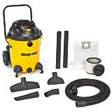 Shop-Vac 9651400 6.0-Peak HP Pro Series Wet or Dry Vacuum with Vacuum Cart, 14-Gallon