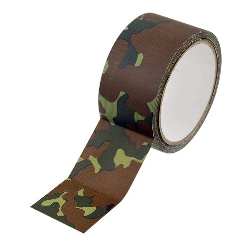 Woodland Camouflage Print Duct Tape - 10 Yards