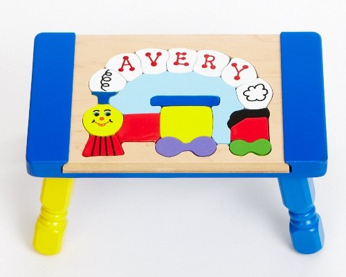 Cheap You Name It Toys Personalized Small Train Puzzle Stool (B001PNDZP8)