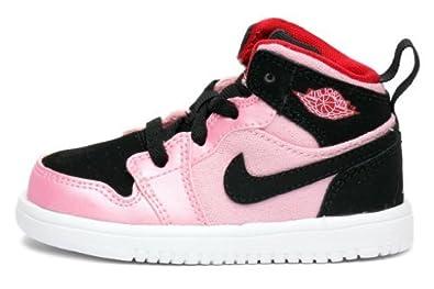 Amazon.com: Girl's Jordan 1 Mid Flex Toddler (TD) Shoe (5.5): Clothing