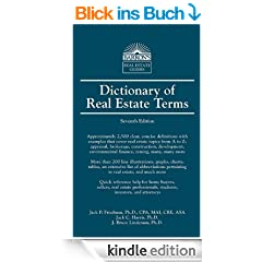 Dictionary of Real Estate Terms (4th ed) (Barron's Real Estate Guides)
