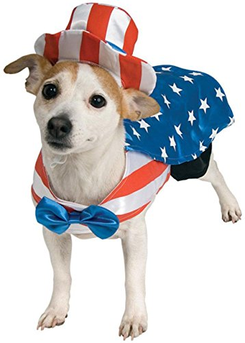 Uncle Sam Pet Costume, Small