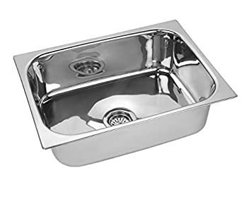jindal kitchen sink stainless steel sink size 24 x 18 x 9 inches 204 - Kitchen Ss Sinks